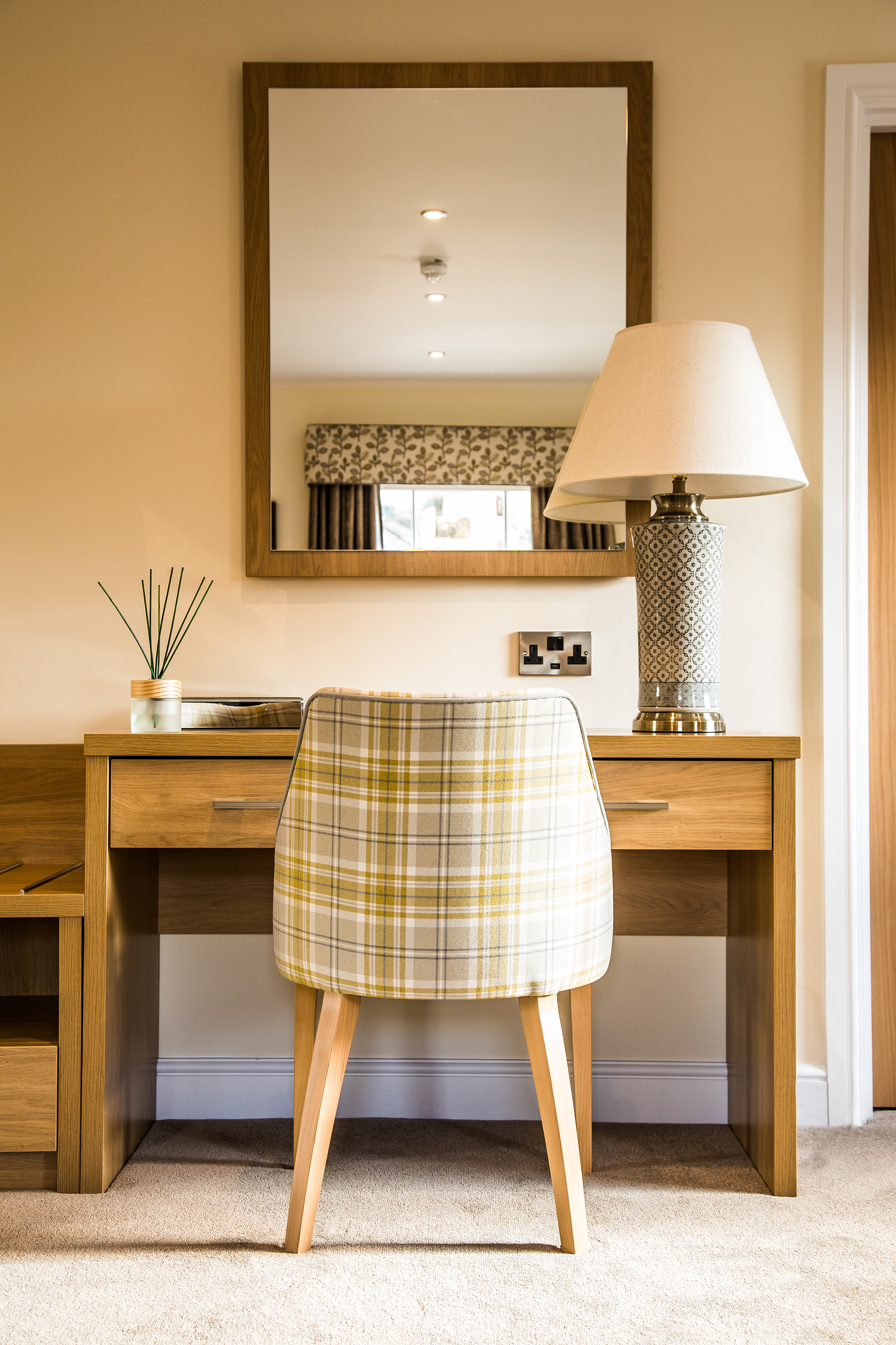 hotel, interior photography, architectural photography, interiors, property, sheffield, peak district, H Boutique, holiday