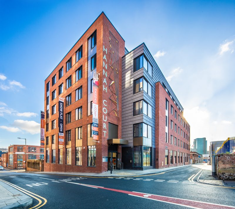 sheffield, halls of residence, student, student accommodation, hannah court, S1