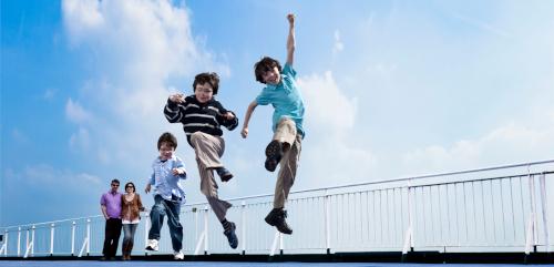 DFDS kids having fun