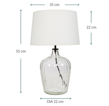 MEDIUM FLUTE TABLE LAMP 05