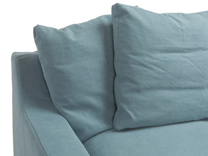 Cloud sofa - feather filled back cushions