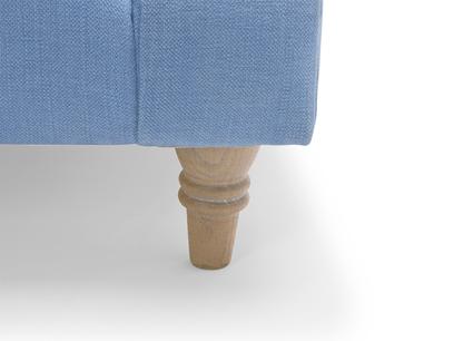 Crumpet sofa - solid oak legs