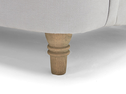 Achilles sofa - solid oak leg