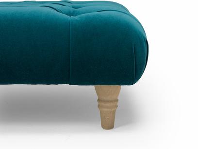 Comfty footstool leg detail