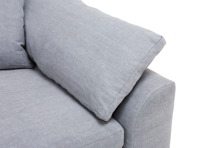 Cuddlemuffin tow seater sofa arm detail