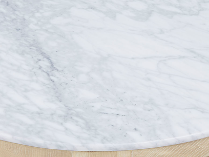 Marmo marble top coffee table top detail