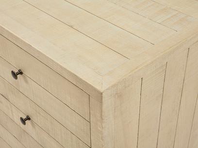 Grand Kanoodle wooden sideboard bandsawn oak detail