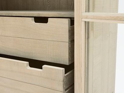Super Kernel kitchen larder cabinet shelf details