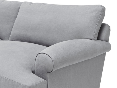 Slowcoach modern upholsestered sofa bed arm detail
