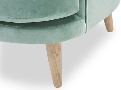 Sweetspot occasional chair leg detail