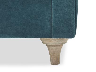 Humblebum upholstered sofa leg detail
