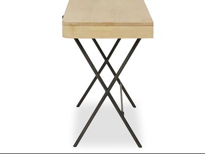 Jotter slim line wooden desk side