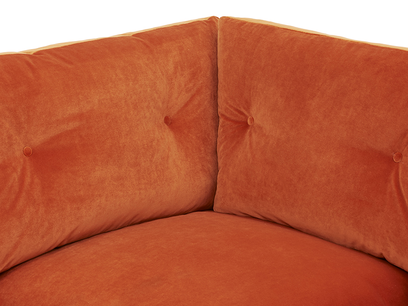 Slim Jim Comfy Corner Sofa corner detail