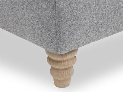 Slim Jim Love Seat Chaise Corner Detail