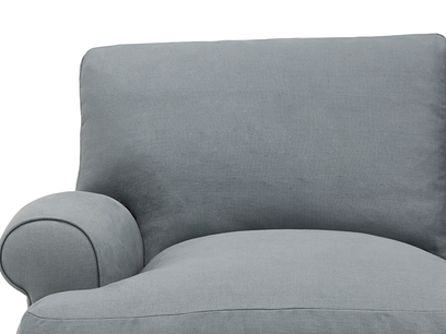Slowcoach Chaise Sofa arm detail