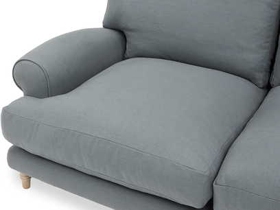 Slowcoach Chaise Sofa cushion detail