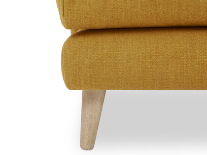 Squishmeister Love Seat Chaise leg detail