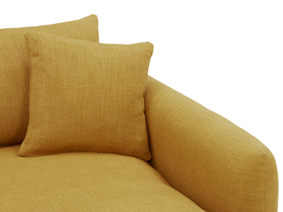Squishmeister Love Seat Chaise arm detail
