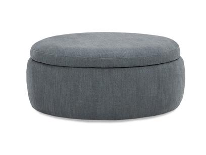 Pot Pie Upholstered Storage Footstool