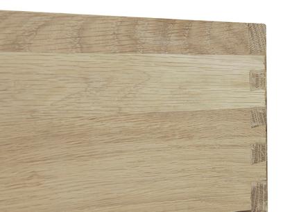 Dinkum in Washed Oak Trundle Under Bed Drawer Wheel detail