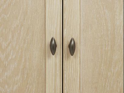 Valentine Wardrobe Door knob detail
