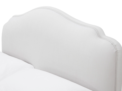 Sugar Puff French Style Upholstered Padded Bed
