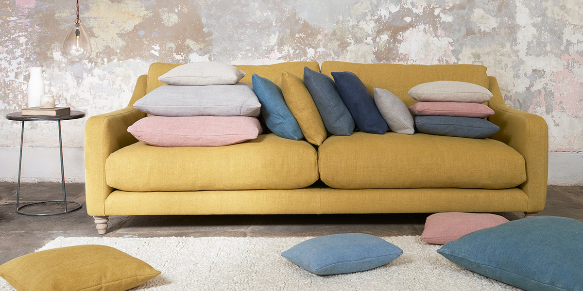 Laundered Linen fabric range