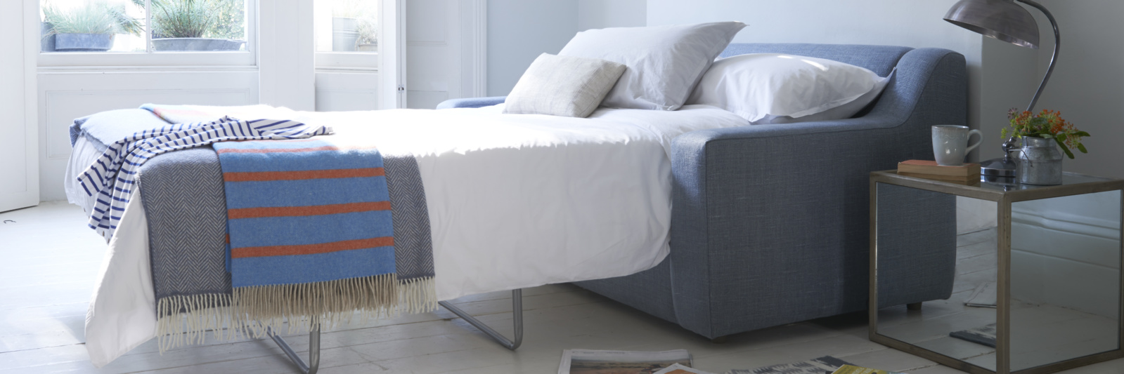 Luxury hand made comfy British cloud soda bed