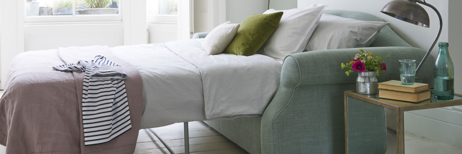 Comfy british made deep luxury sloucher bed