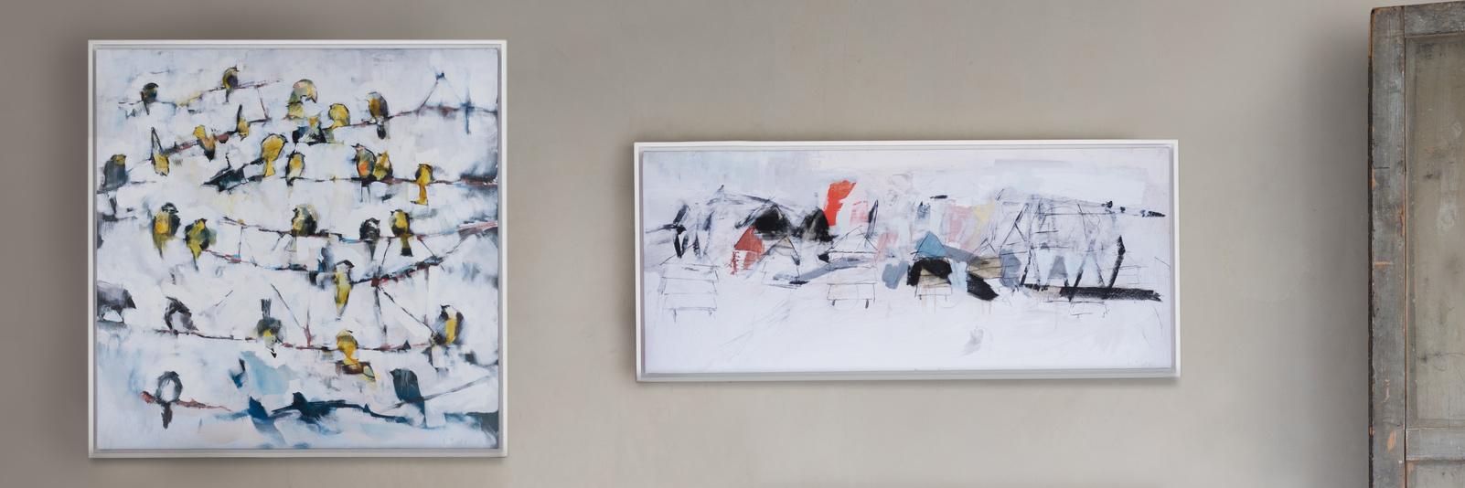 Ben Lowe art canvas framed print