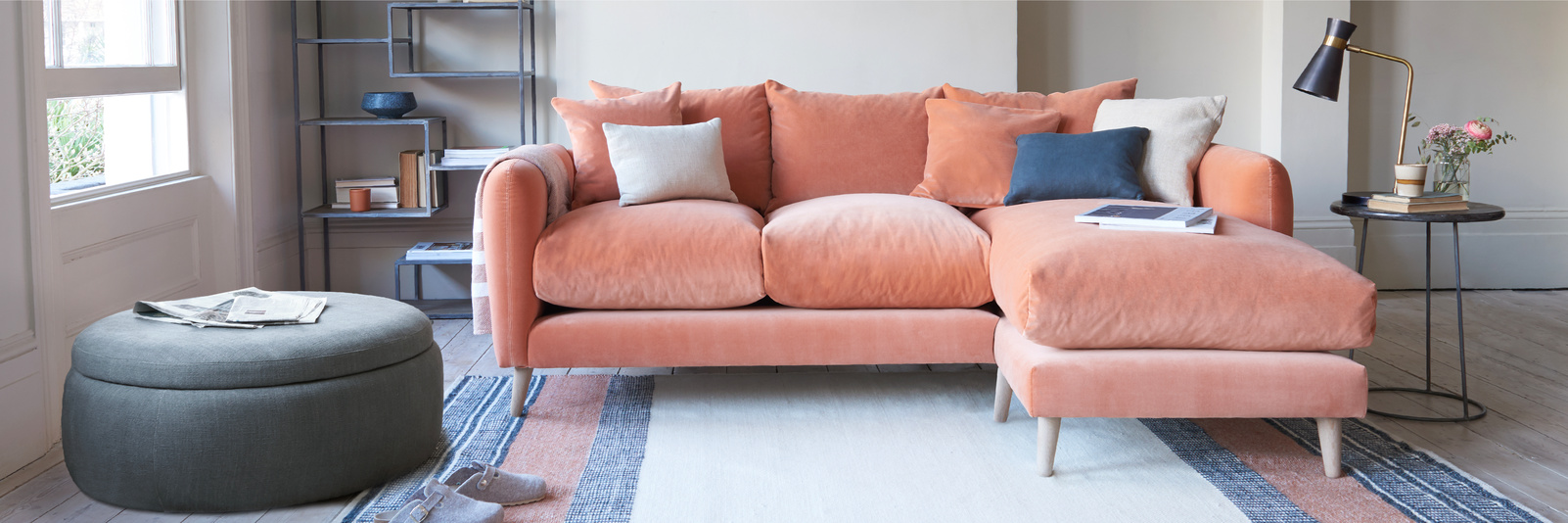 Squishmeister chaise sofa