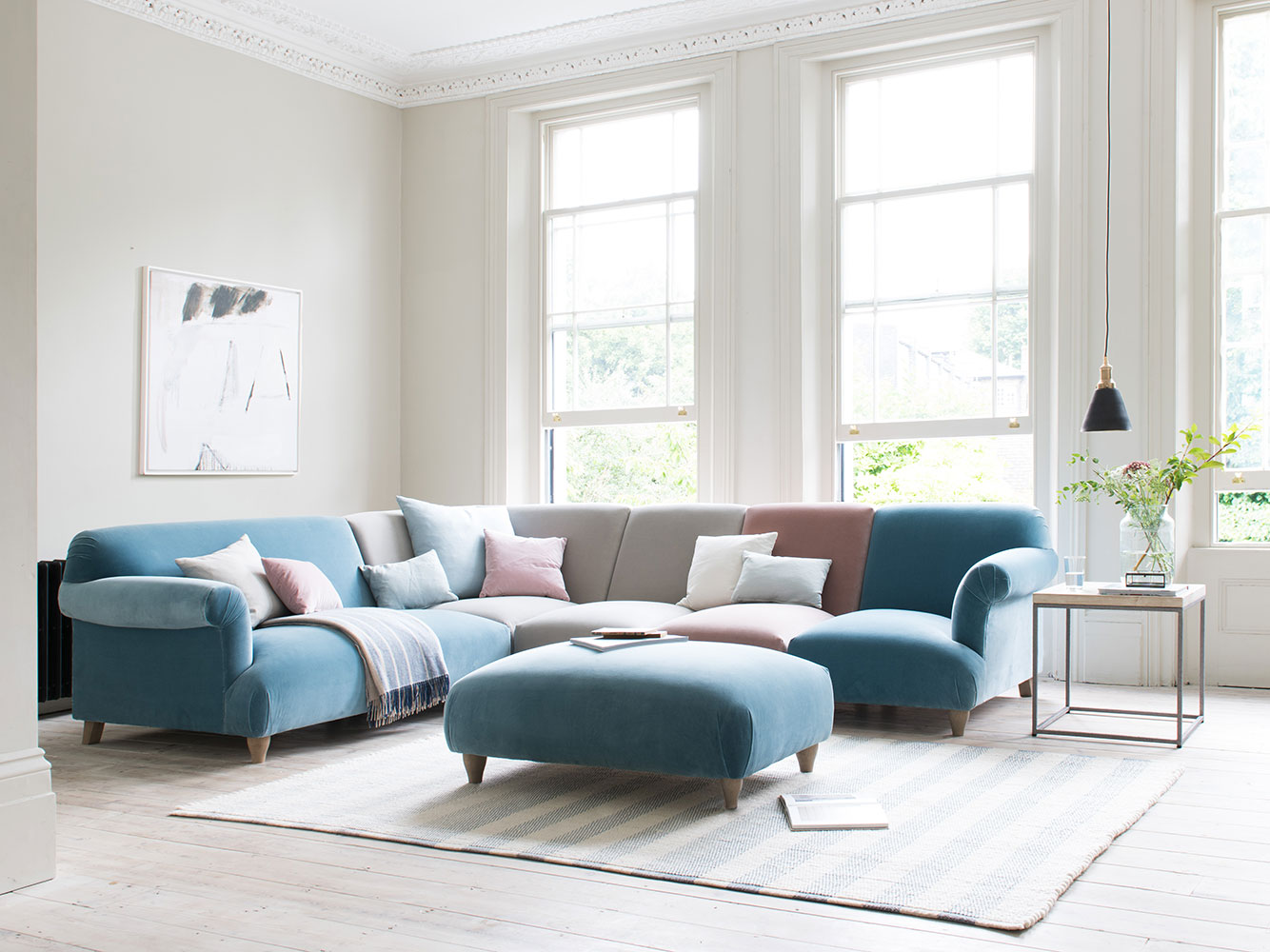Soufflé Modular Corner Sofa