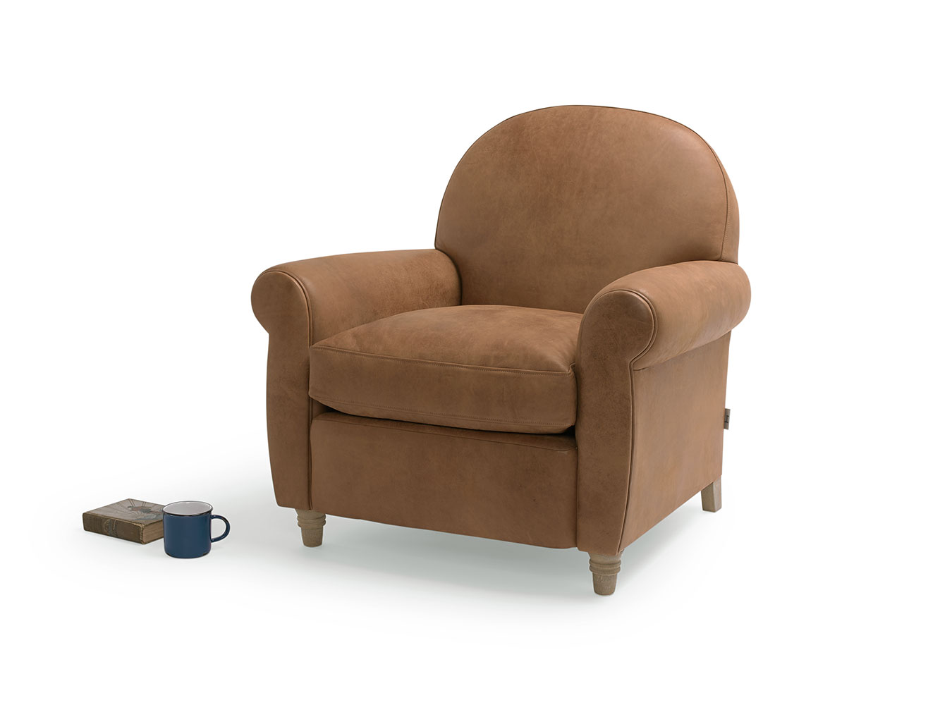 Club Classic Curved Occasional Chair Loaf