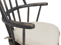 Farmhouse Chuckler wooden spindle kitchen chair