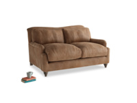 Small Pavlova Sofa in Walnut beaten leather