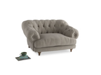 Bagsie Love Seat in Birch wool
