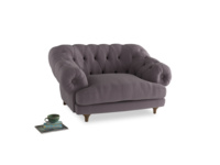Bagsie Love Seat in Lavender brushed cotton