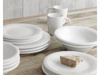 White Ambrosia handmade kitchen ceramics