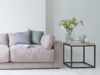 Contemporary luxury and deep Atticus Corner Sofa handmade in Britain