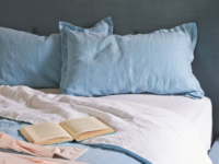 Beautiful Topsy Turvy cotton bed linen