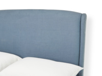 Upholstered Dazzler bed handmade in Britain