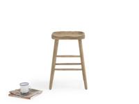 Pretty handmade oak kitchen stool