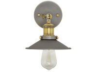 Vintage style Toby wall sconce and light