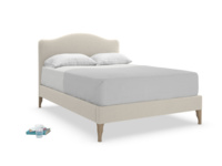 Luna upholstered French bed is a simple and gorgeous french style luxury British bed