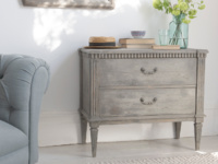 Vintage reclaimed living room chest of drawers