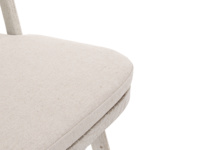 Farmhouse Bossy kitchen chair hand-finished in a lovely scuffed white