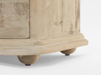 French style Aurelie bedroom chest of drawers in reclaimed timber