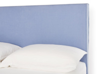 Piper upholstered headboard has a contemporary and simple design
