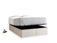 Storage Store upholstered divan bed with lots of contemporary storage space