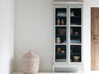 Flummery wooden glass dresser